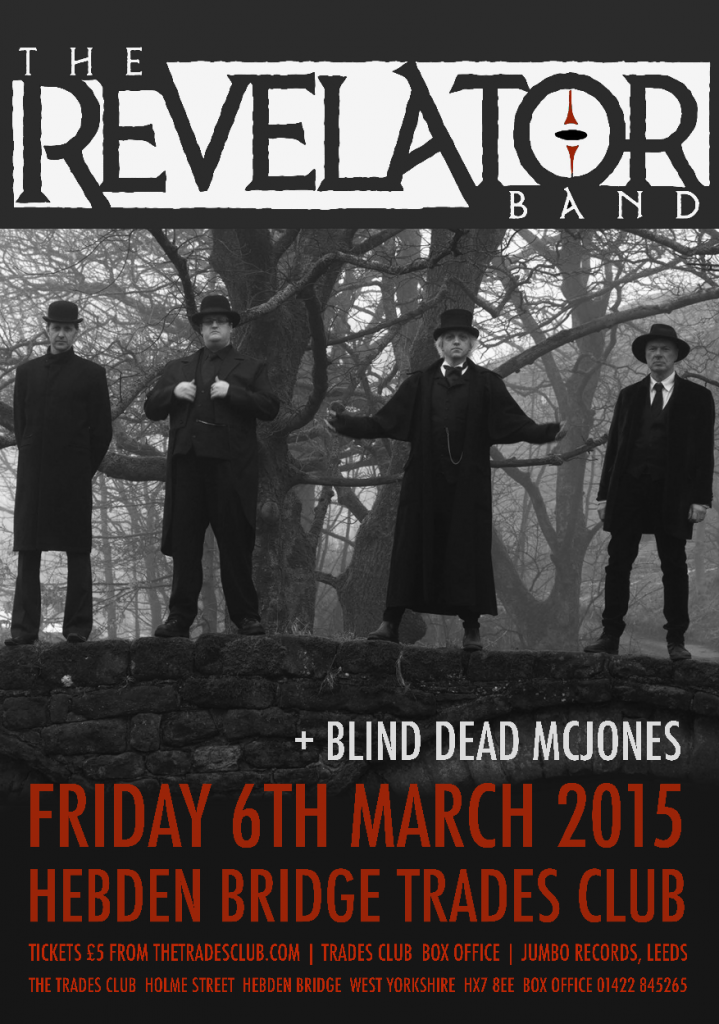 Revelator Band at The Trades Club 8 March 2015