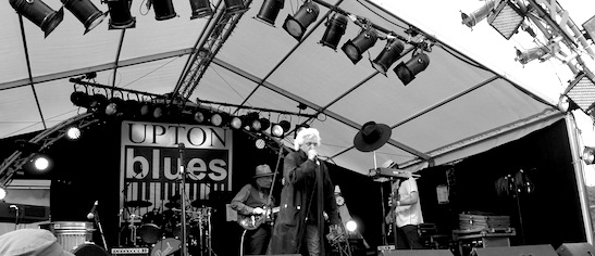 At the Upton Blues festival
